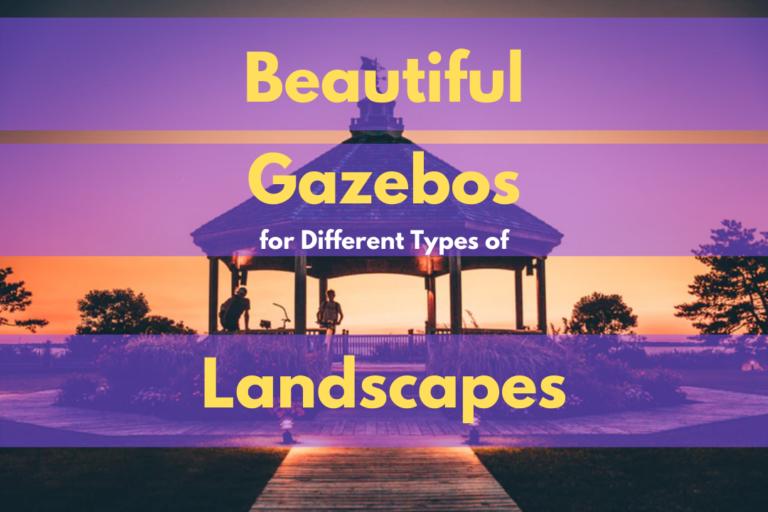 Best Gazebos For Different Types of Landscapes