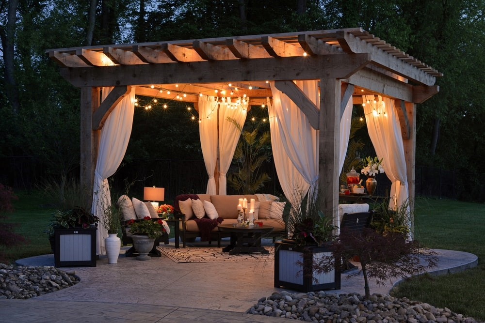 GAZEBOS AND ENTERTAINMENT