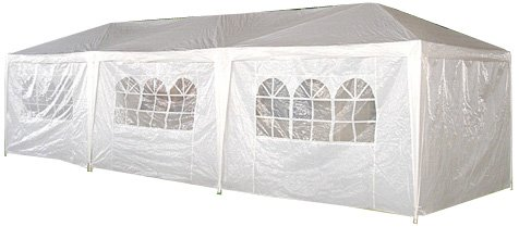 Palm Spring 10×30 Foot White Canopy Party Tent